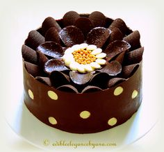 Super Enticing and Amazingly Designed Chocolate Cakes 27
