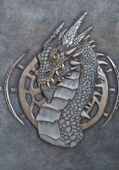 Дракон,рельефное панно,барельеф,dragon,relief,wall panel,bas relief,