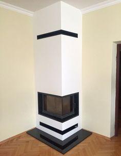 kominek nowoczesny nowoczesna obudowa kominkowa n102