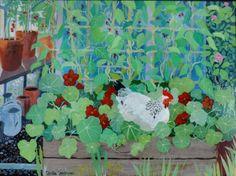 Broody Hen by Sheila Smithson