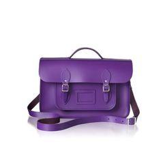 Purple batchel Cambridge Satchel