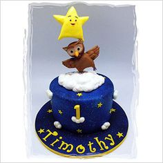 Balancing Twinkle Star & Owl cake for Timothy's first birthday! Boys 1st Birthday Party Ideas, Cute Birthday Cakes, Baby Boy 1st Birthday, Birthday Celebration, Twinkle Twinkle, Twinkle Star, Owl Cakes, Baby Cakes, Nursery Rhymes