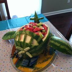 Made this for my son& bday party. It was an airplane theme. Helicopter Birthday, Planes Birthday, Planes Party, 3rd Birthday Parties, 1st Boy Birthday, Fruit Birthday, Boss Birthday, Birthday Ideas, Vintage Airplane Party