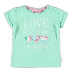 Vingino Baby Girls shirt met korte mouw   kleertjes.com