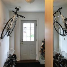 Home is where you hang your bike.