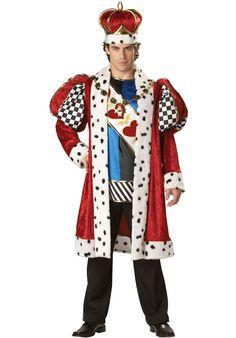 King of Hearts Costume - Elite Quality - Alice in Wonderland Costumes at Escapade™ UK - Escapade Fancy Dress on Twitter: @Escapade_UK