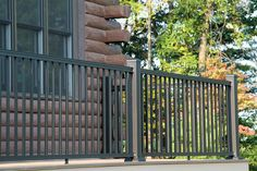 Vinyl Fence Railing Decking in Medina Brunswick Wadsworth Orrville Wooster Aluminum Decking, Deck Railings, Fence, Outdoor Structures, Deck Balusters