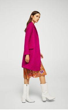 Abrigo de invierno: el color se impone como tendencia.