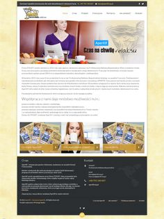 Projekt strony internetowej dla STAUDT, firma została założona w 2012 roku jako agencja reklamowa zajmująca się Profesjonalną Reklamą Bezpośrednią... www.aperitif.org.pl