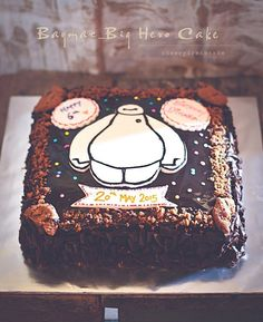 ~ Baymax-Big Hero Cake... @FoodBlogs
