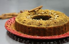 Greek halva: Semolina with orange and nuts. My Dessert, Bbq, Muffin, Greek Beauty, Sweets, Plates, Vegan, Breakfast, Barbecue