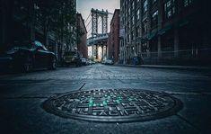 Manhattan Bridge, Sidewalk, Side Walkway, Walkway, Walkways, Pavement