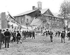 ~~Nothing has changed over time. Crazy people will be crazy, regardless of the laws on the books! On May 18, 1927, 45 people, mostly children, were killed and 58 were injured when disgruntled and demented school board member Andrew Kehoe dynamited the new school building in Bath, Michigan out of revenge over his foreclosed farm due in part to the taxes required to pay for the new school.