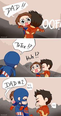 Marvel Avengers 345299496431781398 - This made me happy. Source by emelinelamor Funny Marvel Memes, Marvel Jokes, Marvel Films, Dc Memes, Marvel Heroes, Superfamily Avengers, Stony Avengers, Avengers Comics, Spideypool
