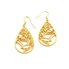 Reina Earrings now featured on Fab.