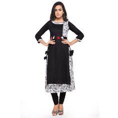 1042457394 Atmiya Fashion Rayon A-line Kurti - Atmiyamart - Online Shopping Apps