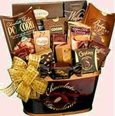 Gourmet healthy gift basket you can get gluten free diabetic chocolate decadence gift baskets negle Choice Image