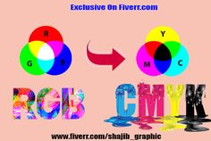 convert RGB to cmyk format for printing or image resizing by shajib_graphic