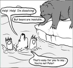 Chemistry jokes are unbearable