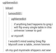 Good God, Mystrade shippers, not now! #mystrade #sherlock