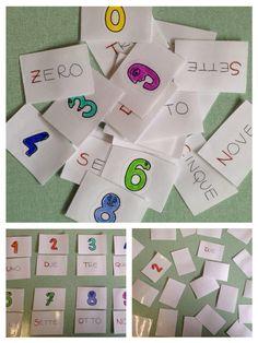 Utilizzato con un bambino con ritardo misto di sviluppo. Matematica: carte plastificate come quelle degli animali con immagine e nome con l'iniziale evidenziata. Giochi: ➖ semplice associazione ➖ memory (immagine/parola)
