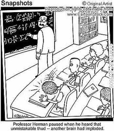 Algebra funny cartoons from CartoonStock directory - the world's largest on-line collection of cartoons and comics. Math Puns, Math Memes, Science Jokes, Math Humor, Maths, Algebra Humor, Physics Jokes, Algebra 1, Memes Humor