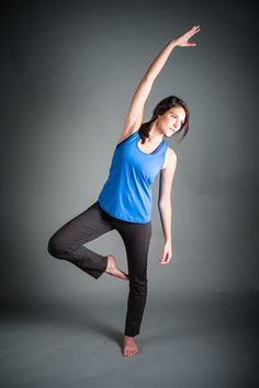 Meet Our Essential Bamboo Yoga Top Featuring A Supporting Built In