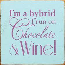 hybrid run on chocolate and wine - Google Search