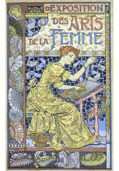 Art Nouveau - Affiches - Eugène Grasset - 1892
