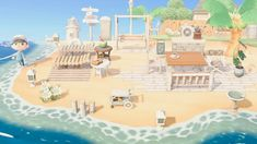 Animal Crossing New Horizons ( Animal Crossing 3ds, Animal Crossing Wild World, Animal Crossing Villagers, Animal Crossing Qr Codes Clothes, Animal Crossing Pocket Camp, Motifs Animal, All About Animals, Island Design, Animal Paintings