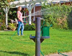 Gardenplaza - Dank Flachtank und Zapfsäule ist dies einfacher und flexibler als gedacht - Jetzt auf Regenwassernutzung umstellen!