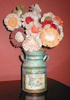 How to make Prim Home Decorations - sunflowers, ghosts, owls, and others