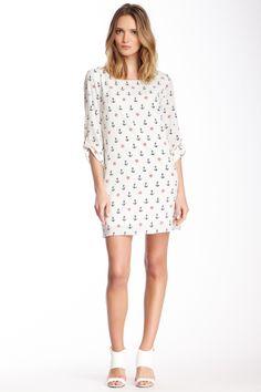 Printed Shift Dress on HauteLook