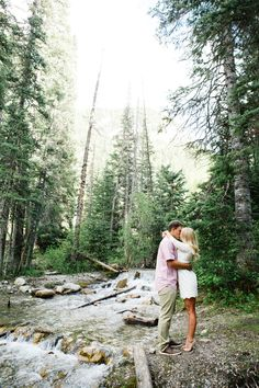 Jamie Tervort Photography, Big Cottonwood Canyon Utah Engagement Pictures, summer engagements, aspens pine tree mountain view pictures, white lace dress, Cheyenne and Tyson