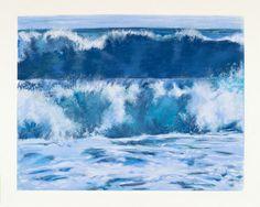 "Saatchi Art Artist Stephen Finkin; Drawing, ""Wave Series 24"" #art"