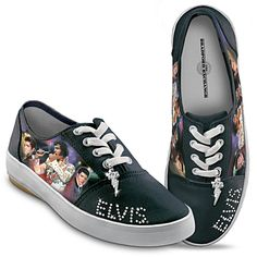Elvis Presley Signature Women's Shoes, ok I need these