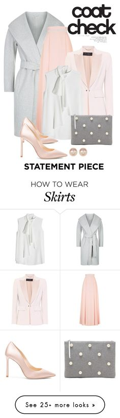 """""""Go Bold: Statement Coats"""" by shamrockclover on Polyvore featuring MaxMara, Alexander McQueen, Jimmy Choo, Nordstrom Rack and statementcoats"""