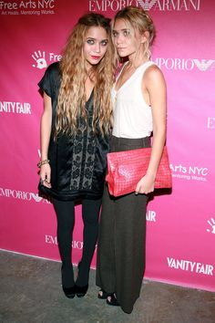 15 Trends The Olsen Twins Made Us Love #refinery29  http://www.refinery29.com/olsen-twin-trends#slide5  Giant Clutches Tiny though they may be, the twins have always loved going big with their accessories. Case in point: the anything-but-dainty clutch.