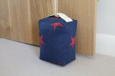 Shop for beautiful hand made fabric doorstops from Amy Joanne Interiors in gorgeous fabrics from Peony & Sage, Emily Bond and RawXclusive. Browse or Buy now! Emily Bond, Star Bedroom, Door Stop, Gorgeous Fabrics, Little Star, Uk Shop, Beautiful Hands, Home Accessories, Stars