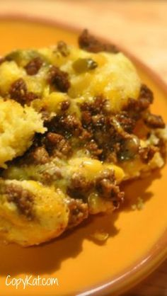 Mexican Cornbread Casserole - one of my most popular recipes.  Easy to make, and reheats very well.