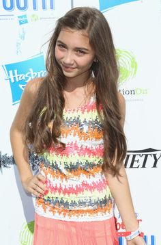 Rowan Blanchard - Variety's Power Of Youth Presented By Hasbro And GenerationOn - Arrivals