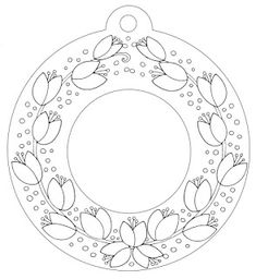Fall Crafts For Kids, Spring Crafts, Diy And Crafts, Parchment Design, Parchment Craft, Islamic Art Pattern, Pattern Art, Flower Coloring Pages, Colouring Pages