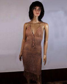 d600a540dc2a Knitted Dress Boohoo Knitted Dress Lazada Crochet Summer Dresses, Crochet  Toddler Dress, Crochet Jumper