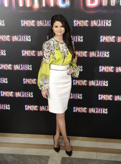 With Selena gomez spring breakers fakes yes
