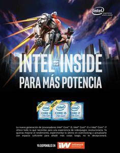 Los procesadores Intel Core disponibles en Infowork