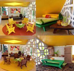 The BUTTERFLY Dollhouse An original designer by 3StarStudioArts