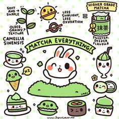 Hi JapanLovers! We're going through your tabemono requests one by one, and today we present you with a kawaii infographic about the most requested topic: MATCHA! Originating from the ancient Chinese...
