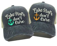 lowest price ce4b3 2f0bc Trucker Quotes, Vintage Trucker Hats, Camping Hair, Embroidery Supplies,  Dad Hats,