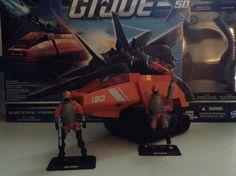 "G.I. Joe 50th Anniversary ""Silent Strike"" ""Cobra Hiss Tank"" with ""Hiss Driver"" and ""Hiss Gunner"""