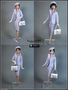 Tenue Outfit Accessoires Pour Fashion Royalty Barbie Silkstone 1218 | eBay